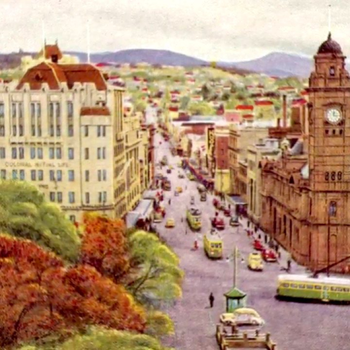 old hobart painting